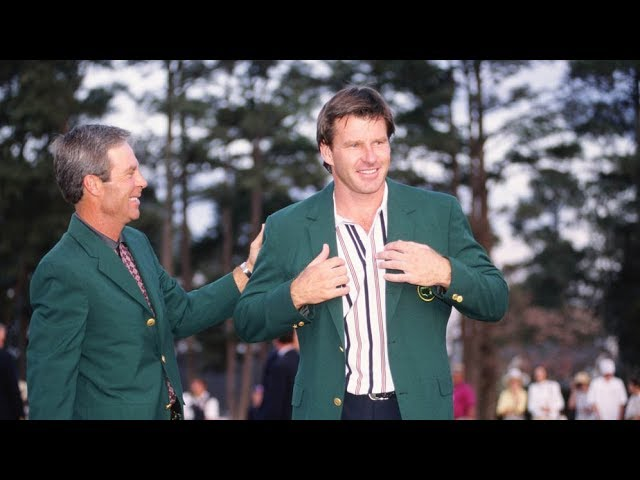 1996 Masters Tournament Final Round Broadcast