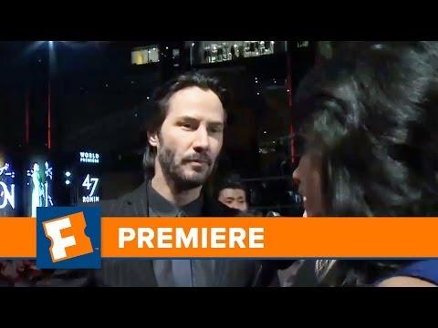47 Ronin Premiere | Celebrity Interviews | FandangoMovies