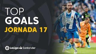 Todos los goles de la Jornada 17 de LaLiga Santander 2019/2020