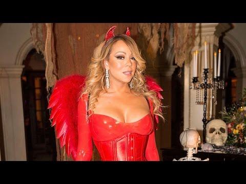 See Mariah Carey Wears Devil Costume to Celebrate Halloween! Looking Good Mariah!