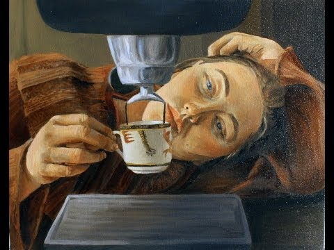 Coffee Art Project- Submitted Painting by Alex Jabore