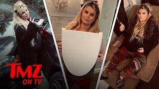 Jessica Simpson Is Having A Hard Time With Being Fat Becuase She's Pregnant | TMZ TV