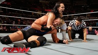 Jack Swagger vs. Bo Dallas: Raw, Sept. 22, 2014