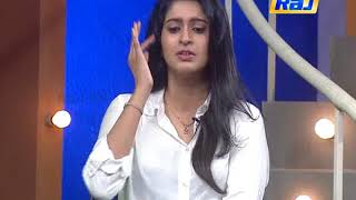 Actress Tanya Ravichandran Interview – Raj TV Deepavali Special Show 18-10-2017