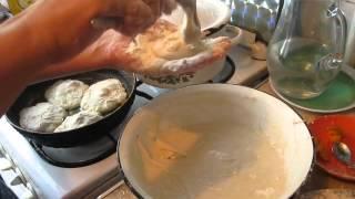 Пирожки на кефире с абрикосами и сливами.Ч.2. Как приготовить сладкие пирожки с фруктами.