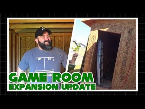 Game Room Expansion Update