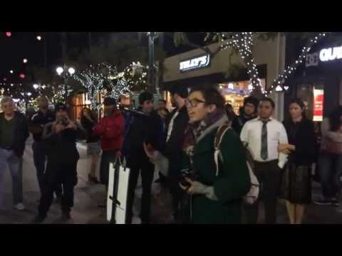 Extremist Christian preaching VS. LGBT on Third Street Promenade