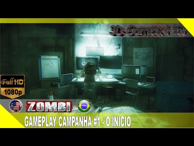 Zombi Gameplay Campaign #1 - The Beginning | 1080p