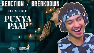 DIVINE - Punya Paap (Prod. By iLL Wayno) | Official Music Video | REACTION | PROFESSIONAL MAGNET |