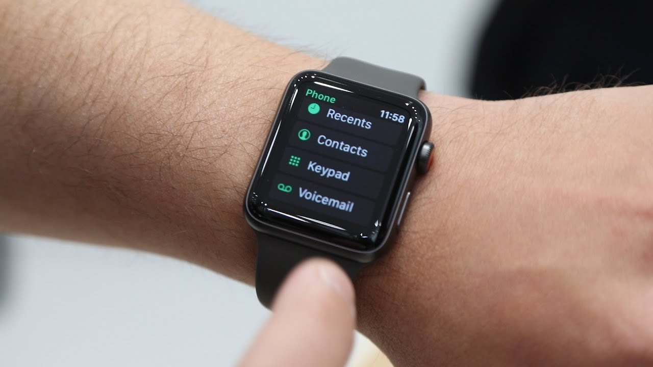 How to set up contacts on apple watch 3