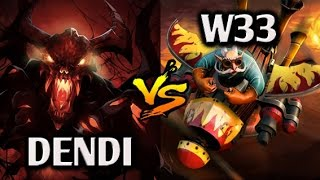 Dendi, ArtStyle, Funnik vs w33, EGM, Wagamama, BamBoe, Vanskor FaceIT Pro League  EU Highlights