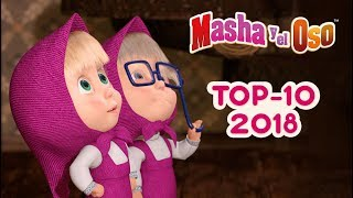 Gambar cover Masha y el Oso - Top 10 🎬 Melhores Episódios de 2018