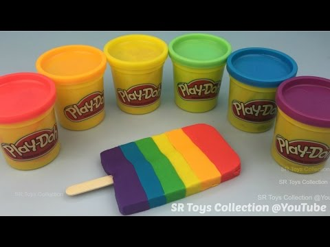 Thumbnail: How to Make Play Doh Ice Cream in Rainbow Colours Fun for Kids