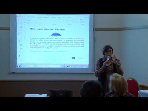 Initial Findings on Opening up Education- Dr. Andreia Inamorato dos Santos