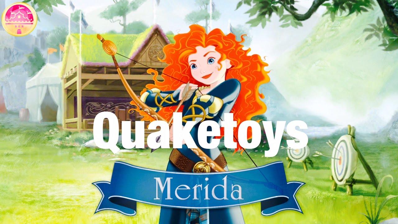 Download Disney Princess Royal Celebrations App Merida Game All Premium Content Unlocked Tips Tricks Review