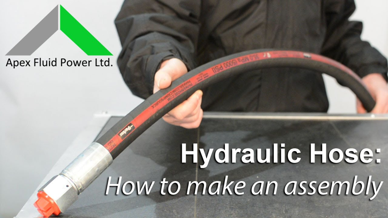 sc 1 st  YouTube & Hydraulic Hose - How To Make an Assembly - YouTube