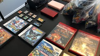 GIANT GAMES Yard Sale Haul!!