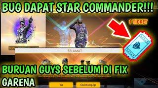 BUG/HOKI!!! DAPAT STAR COMMANDER DENGAN 1 TIKET DIAMOND GRATIS CUUK|Diamond Gratis CashPop