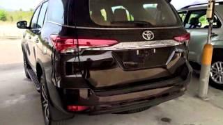 สเป็คเบื้องต้นของ All New Toyota Fortuner 2015