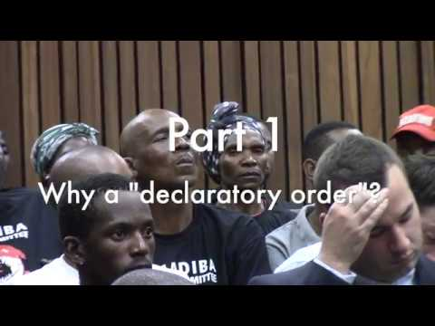 Amadiba vs Minister of Minerals on Right2SayNO Court Proceedings