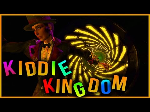 KIDDIE KINGDOM - Fallout 4 Nuka World BOSS FIGHT w/ MAGICIAN!!! NEW ARMOR SECRET RIDES Guide