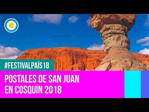 Festival País '18 - Postales de San Juan en el Festival Nacional de Folklore de #Cosquín2018