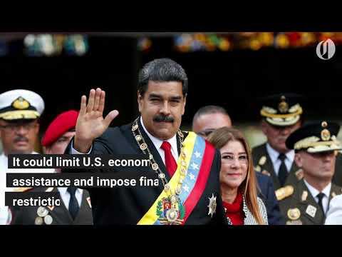 US preparing to add Venezuela to list of state sponsors of terrorism