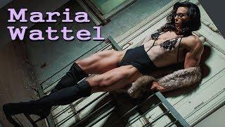Download lagu Maria Wattel 6 2 tall real wonder woman Muscles and Femininity MP3