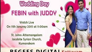 Wedding- Febin + Juddy