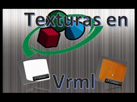 Añadir una textura a una forma en VRML