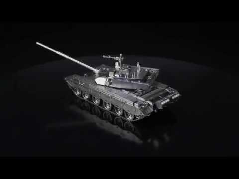 Machining of Stainless Steel Tank Model Type 99 - Machining on Jingdiao CNC machines