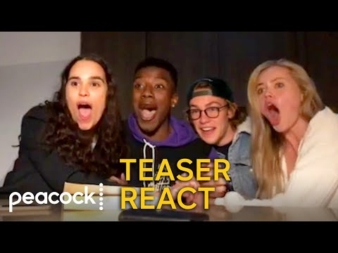 One of Us Is Lying Cast Reacts to Official Teaser   Peacock Original