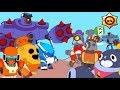 BRAWL STARS ANIMATION: ROBO SPIKE  MECHA CROW MECHA BO VS TICK BARLEY RICO