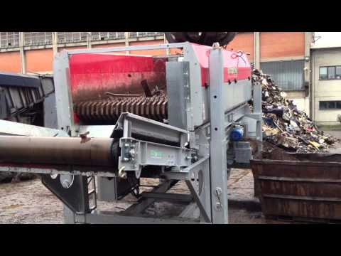 02 - Recycling scrap metal - ECOSTAR dynamic screening system