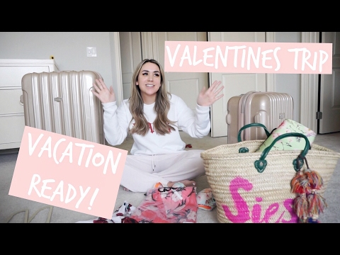 GETTING READY FOR HAWAII! PACKING, LASHES, NAILS | ALEX AND MICHAEL