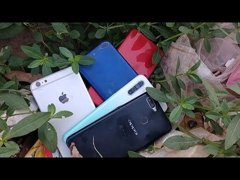 Download Found a lot of broken phones in the rubbish | Restoration destroyed abandoned phone