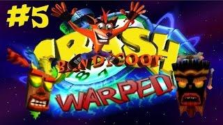 """Crash Bandicoot 3: Warped Ep. 5 // """"Duelo de máscaras"""" - @AlCujune"""
