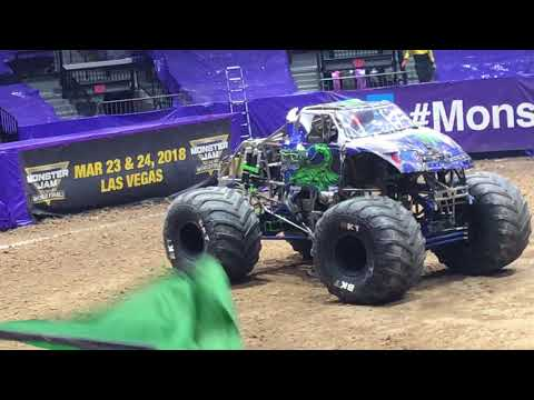 Monster Jam Hidalgo TX at State Farm Arena part 2