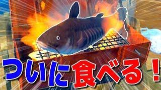 ナマズを丸焼き!遭難してるのに食事を楽しむ男達 Raft 5日目 thumbnail