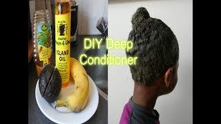 DIY Deep Conditioner for Natural Hair! | Deep Conditioner | AMI FULLEST