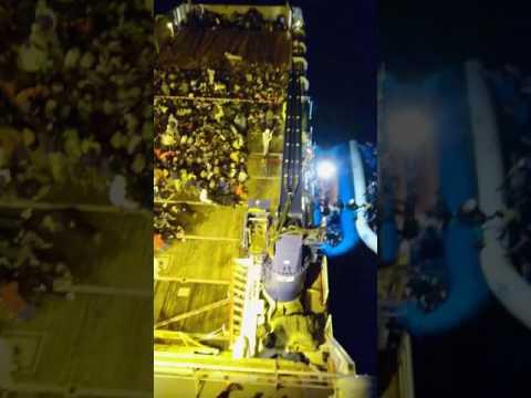 Migrant rescue offshore Libya