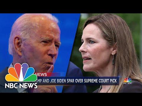 Confirmation Battle For Amy Coney Barrett Begins | NBC Nightly News