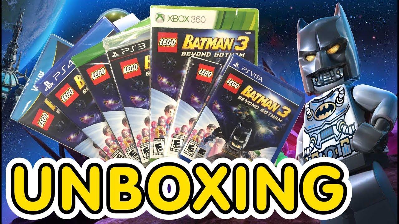 LEGO Batman 3: Beyond Gotham Gameplay Walkthrough Part 1 ...