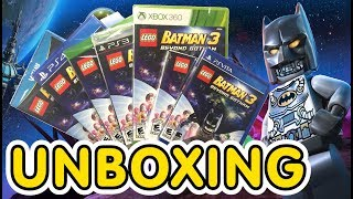 Lego Batman 3 Beyond Gotham ( PS3 / PS4 / PS Vita  / 3DS / Wii U / Xbox 360 / Xbox One) Unboxing !!