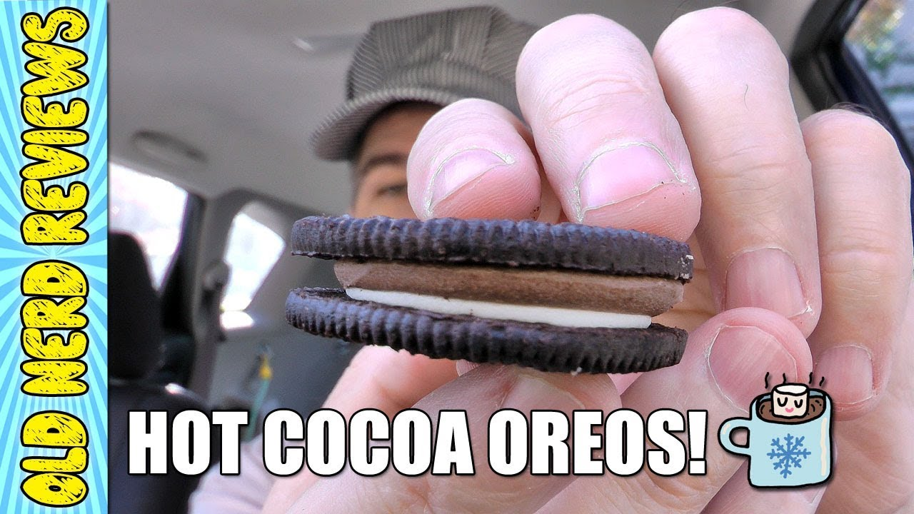 hot cocoa oreo cookies review