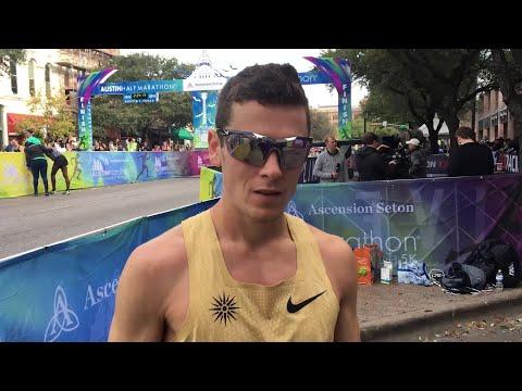 New York native Joey Whelan wins Austin Marathon