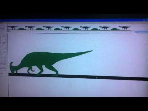 Mapusaurus vs parasaurolophus