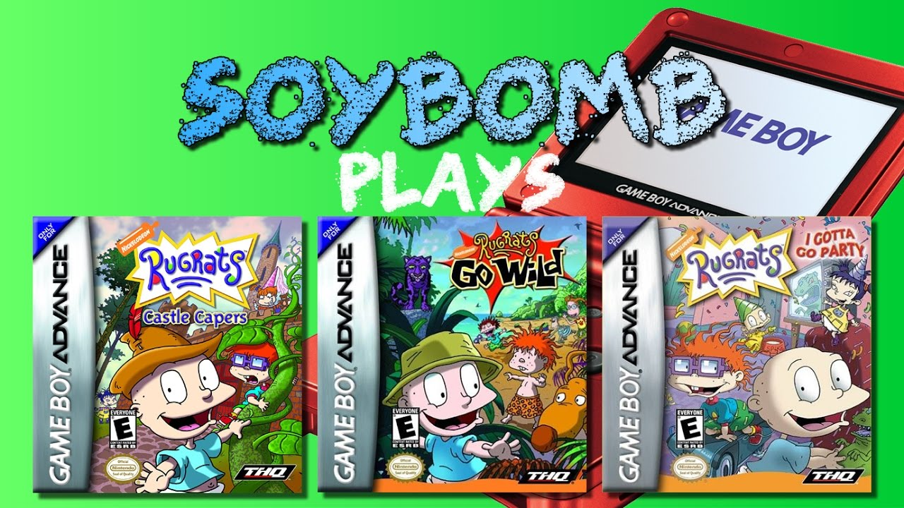 Rug Tas Dames : More rugrats games game boy advance soybomb plays