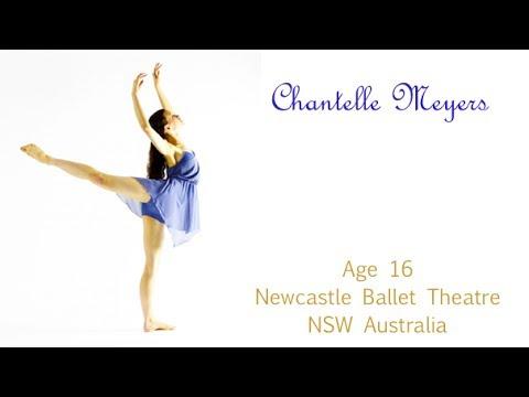 Chantelle Meyers Ballet Theatre UK Audition Video 2014