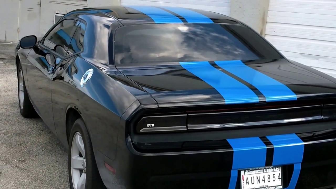 Dodge Challenger Racing Vinyl Stripes Pompano Beach